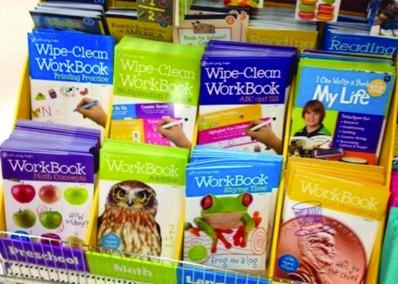 Saving money by reworking your workbooks!