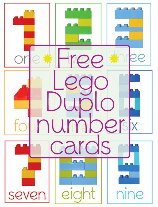 photo about Free Printable Number Cards identify Lego Duplo Variety Playing cards » One particular Interesting Household