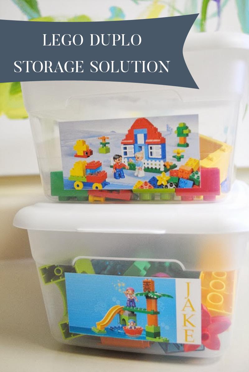 Lego Duplo Storage Solution