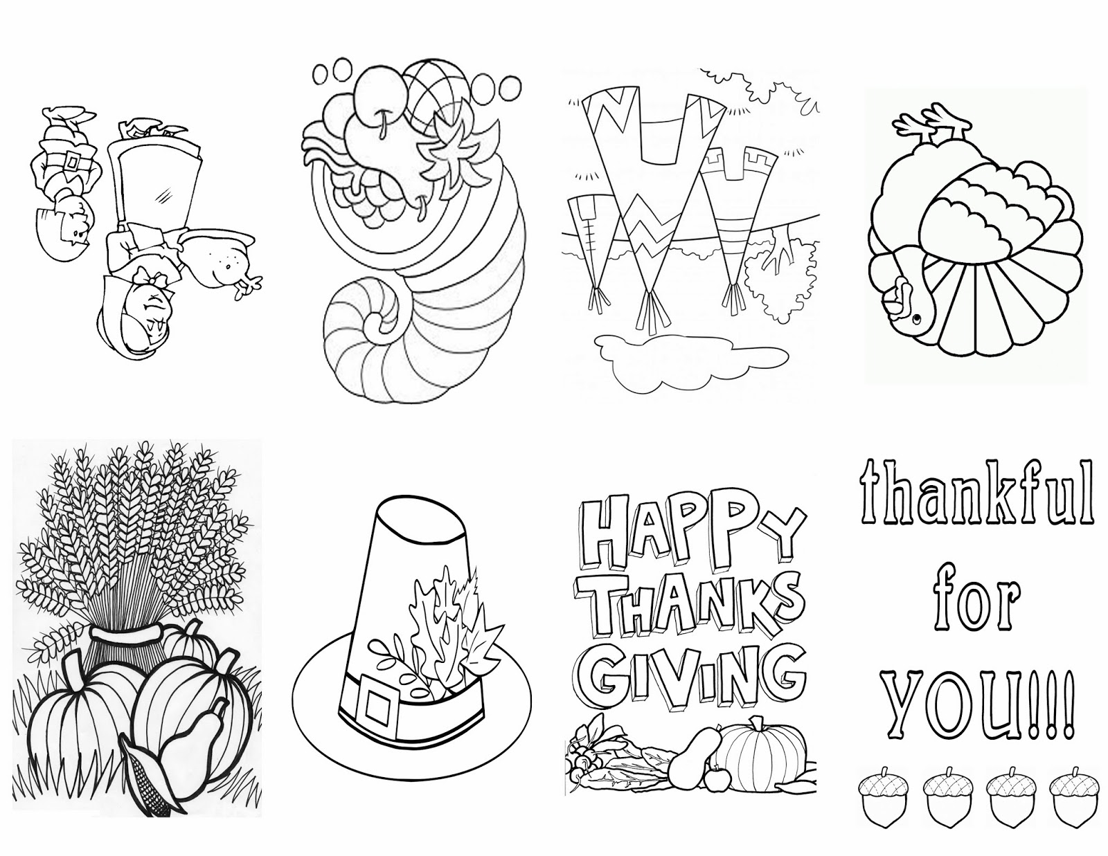 So I Created This Free Printable Just Click HERE Or The Image Below To Download It Is A Thanksgiving Themed Book For Your Child Color