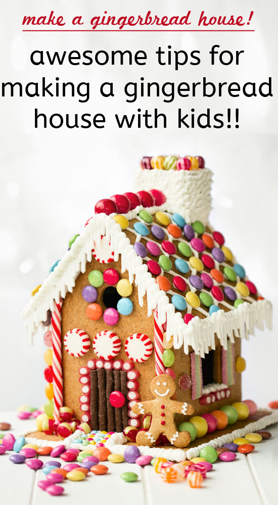 Tips for making a gingerbread house with kids one for How to make best gingerbread house