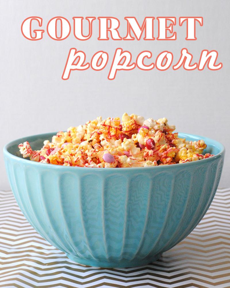 Homemade Gourmet Popcorn! So delicious!!