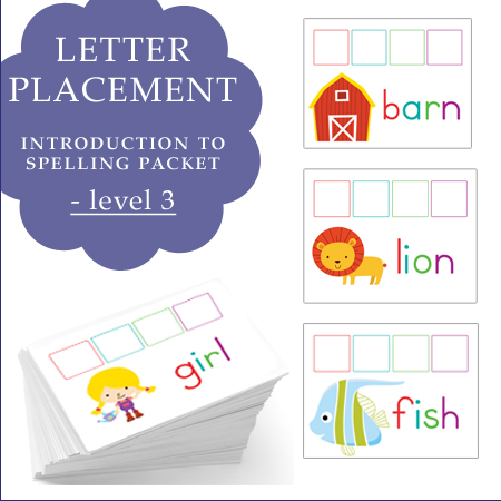 Letter Placement Image level 3