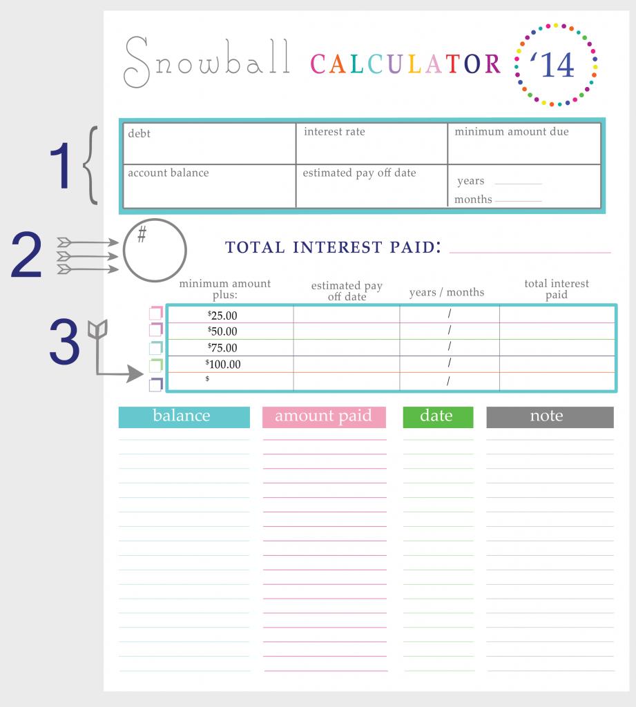 Worksheet Debt Worksheet paying off debt worksheets snowball calculator breakdown