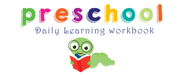 Preschool Daily Learning Workbook from onebeautifulhomeblog.com