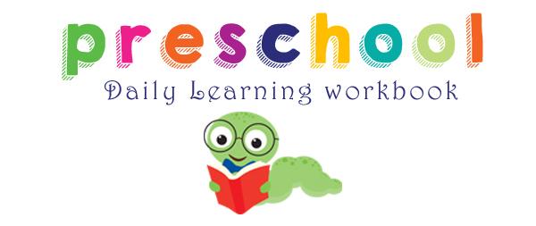 Preschool Daily Learning Workbook **FREE Printable!! » One Beautiful Home