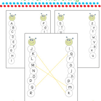 Uppercase & Lowercase Letter Matching