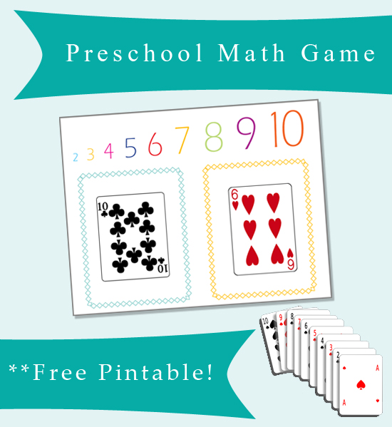 Preschool Math Game