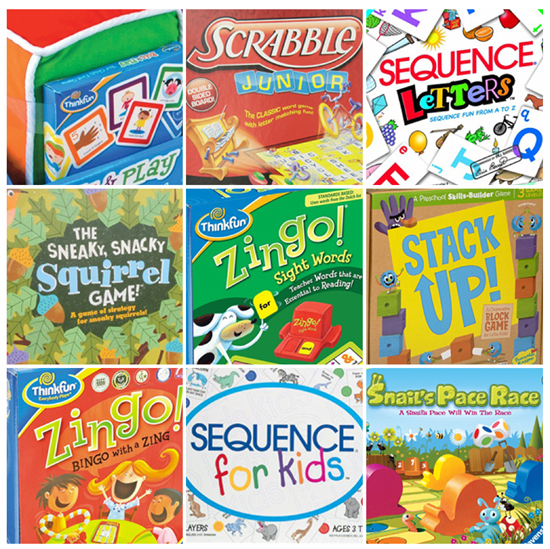 Games to play with your Preschooler