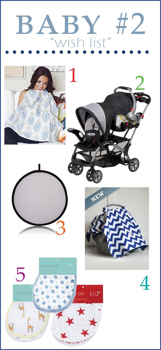 Baby #2 wish list