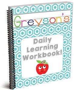Customized Daily Learning Workbook