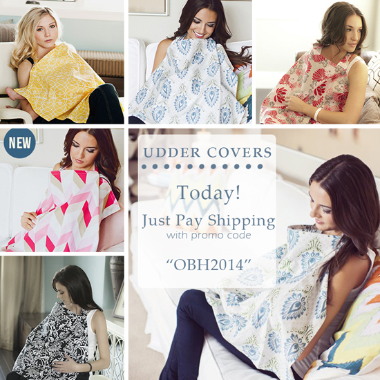 Nursing Cover- just pay shipping and handling!! Use code OBH2014