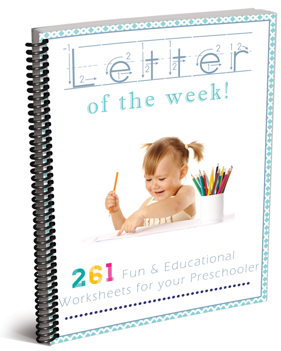 Letter of the Week - Complete set. 261 pages of fun and educational worksheets for your preschooler!