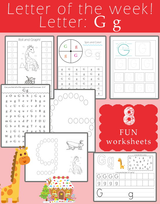 Letter of the Week - Letter G