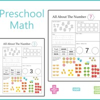 Preschool Math Worksheet