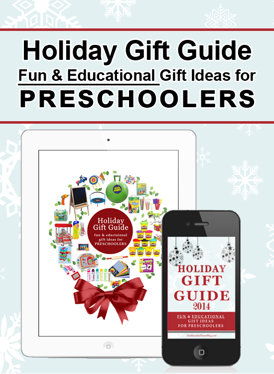 Gift Guide for Preschoolers. These are not just fun gifts but they also carry an educational aspect as well! Win-Win