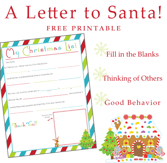 send a letter to santa writing a letter to santa free printable 187 one 24792