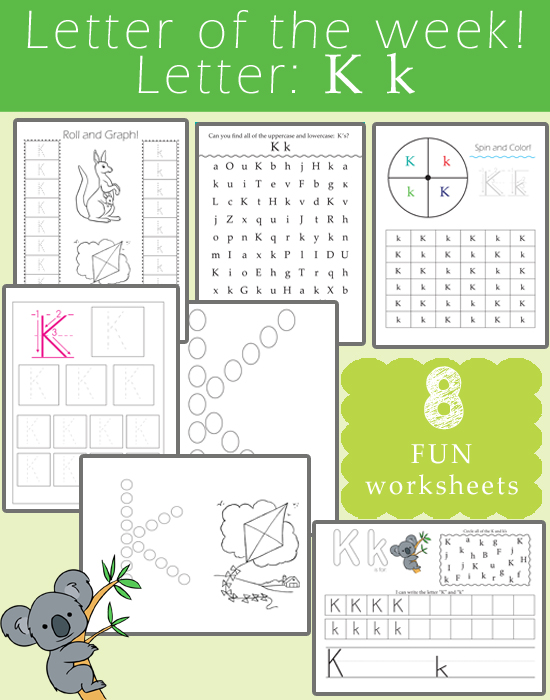 Letter of the Week - Letter K