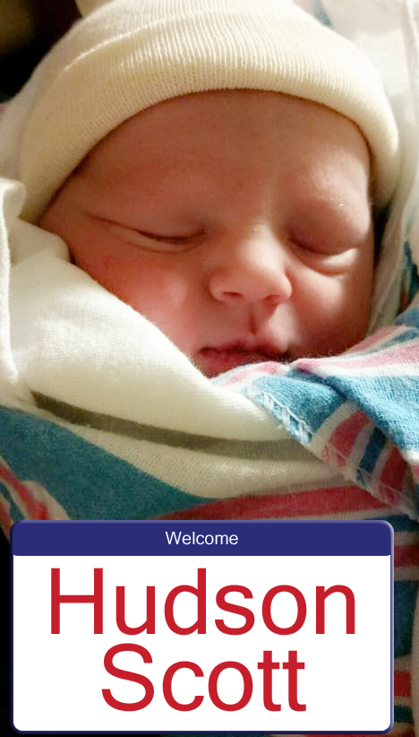 Welcome Hudson Scott