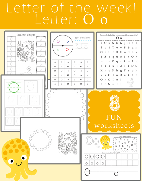 Letter Of The Week O One Beautiful Home. Letter Of The Week O. Kindergarten. Kindergarten Worksheet Letter O At Clickcart.co
