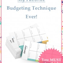 The best budgeting technique I've ever tried!