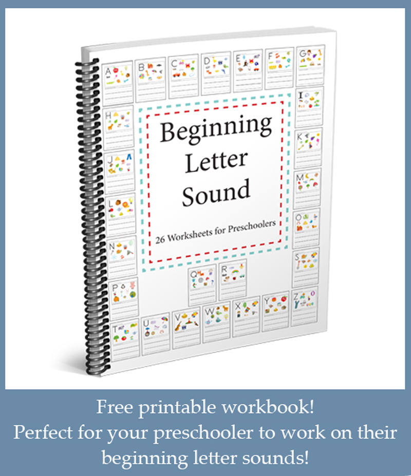 Beginning Letter Sounds Worksheets One Beautiful Home Blog