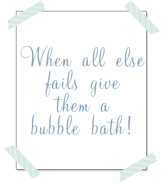 """""""When all else fails, give them a bubble bath!"""" Make bath time even more fun with this easy Homemade Bath Paint recipe. Seriously, it is only 2 ingredients!"""