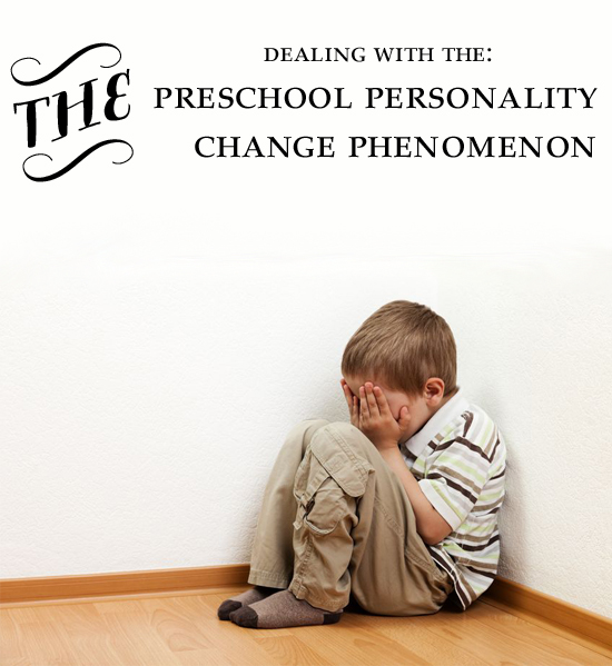 How to deal with the preschool personality chage phenomenon