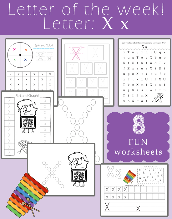 Letter of the Week- Letter X