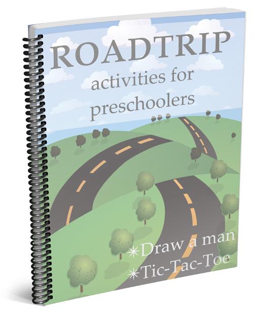 Roadtrip activities for preschoolers. Download these fun games today!!!