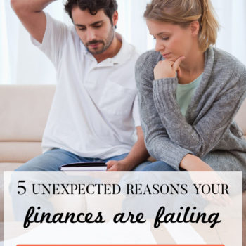 5 reasons why your finances are failing