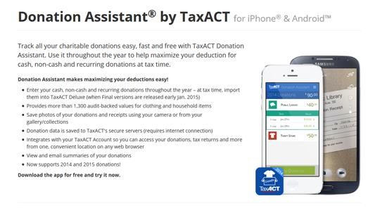 Donation Assistant