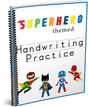 Superhero Workbook