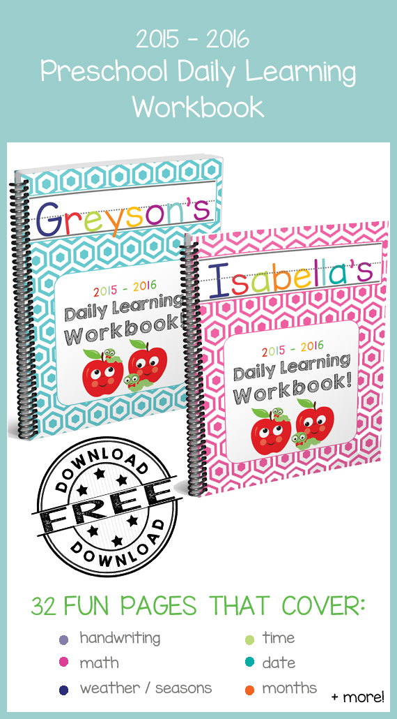 2015 -2016 Daily Learning Workbook