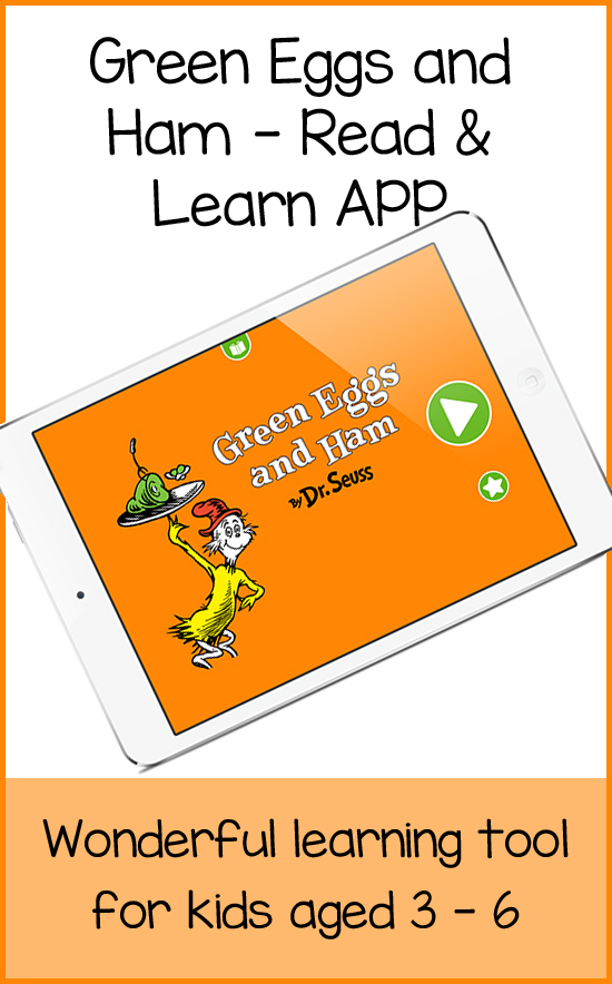 Green Eggs and Ham Learning App