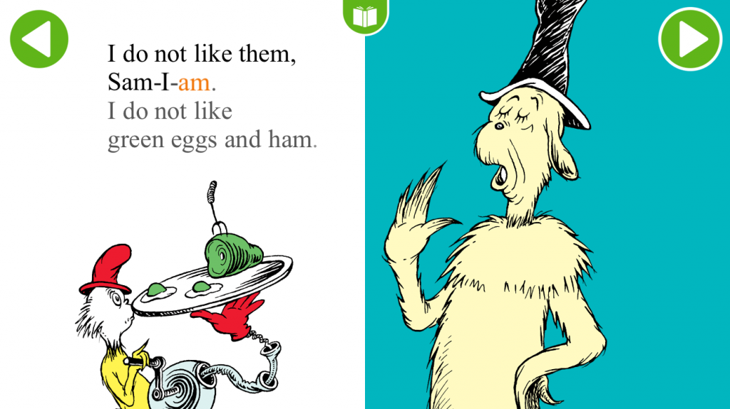 Our Giant Green Eggs And Ham Moment