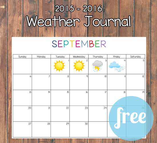 Hands down this is the best weather journal available. PLUS it is completely free. I love the new twist she put on this journal! It is awesome.