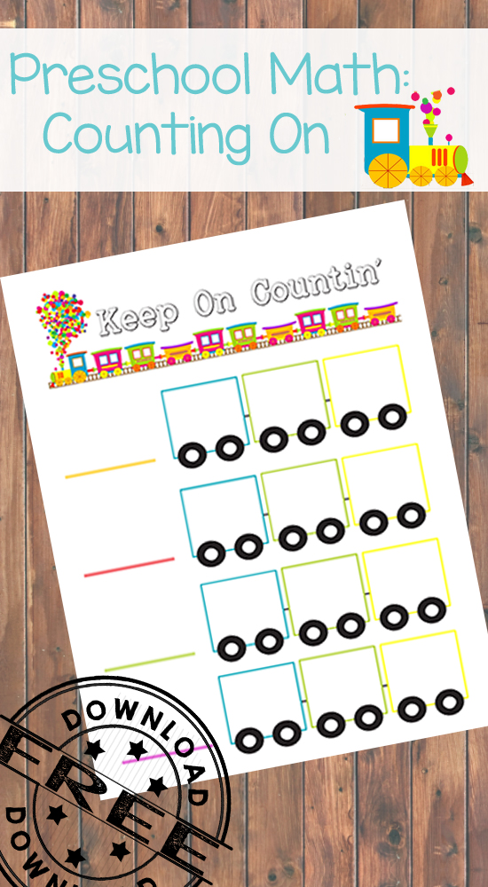 Counting On Free Printable