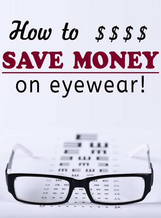 How to save a good amount of money on eyewear!