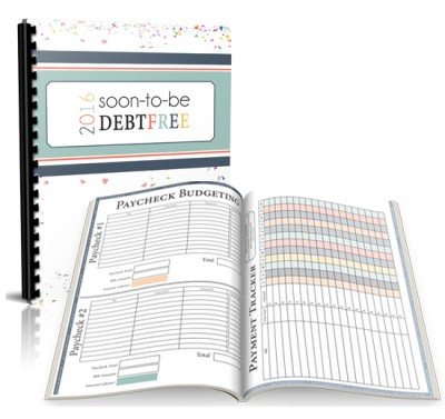 2016 Soon-To-Be Debt Free Workbook! We have tried it all, and this is the one system that has finally been able to turn my families finances around.AND get us on an actual path to becoming debt free!!