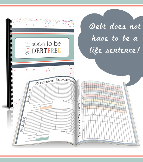 2016 Soon-To-Be Debt Free Workbook! We have tried it all, and this is the one system that has finally been able to turn my families finances around. AND get us on an actual path to becoming debt free!!