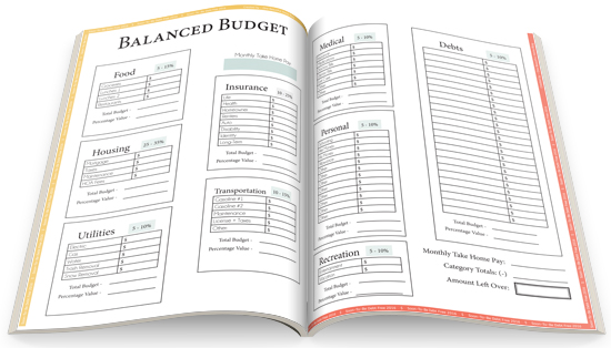Balanced Budget. Soon-To-Be Debt Free Workbook, 2016!
