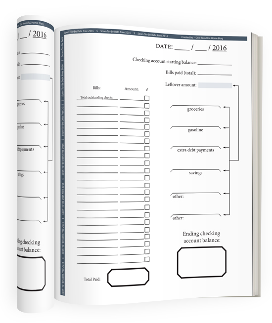 Bill Pay Worksheet