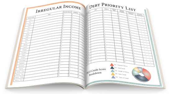 Irregular Income and Debt Priority List