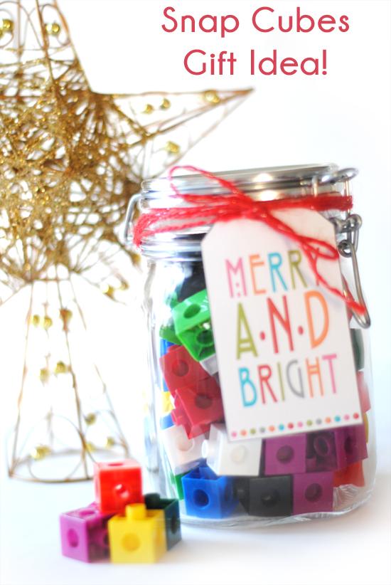 Snap Cubes Gift Idea