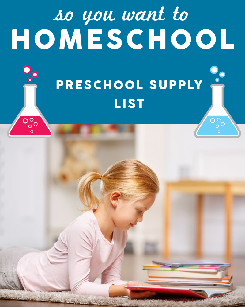 "Homeschooling preschool is your childs ""base"" - grab these preschool essentials and get started today!"