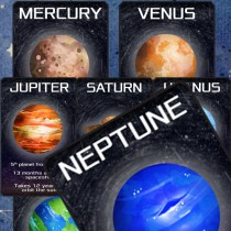 Solar System Planet Flash (Facts) Cards!!