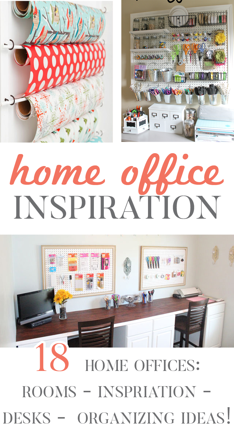 Home Office: Inspiration - Organizing & Storage » One Beautiful Home