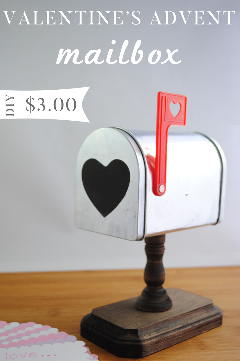 Countdown to Valentine's Day Advent Mailbox