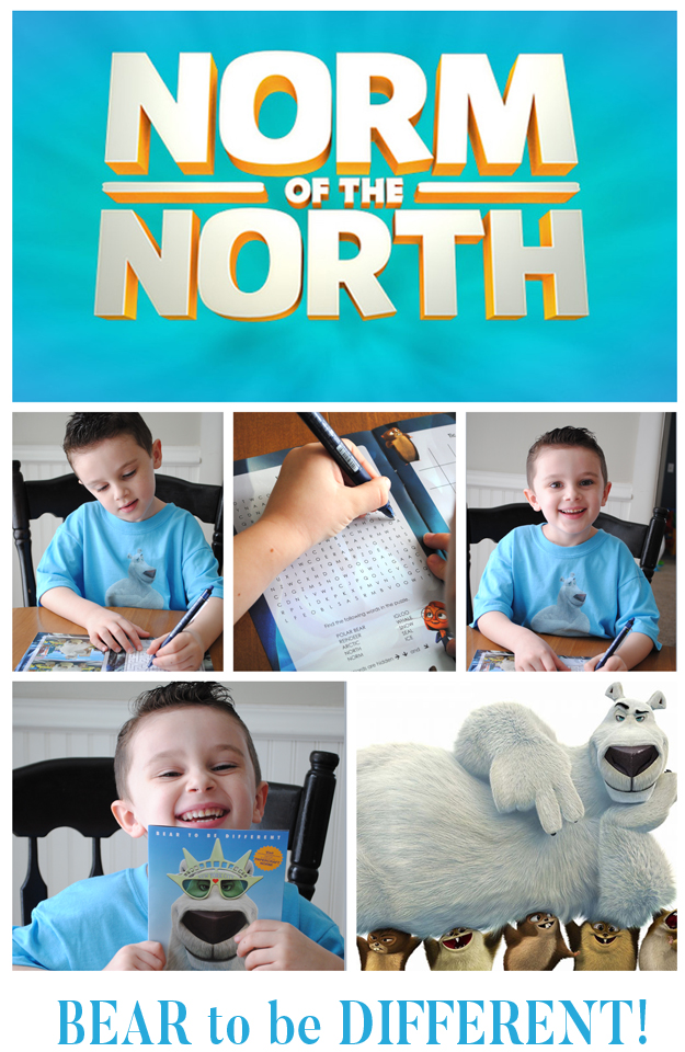 Going to the movies to see Norm of the North